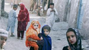 Afghanische Flüchtlingskinder in Islamabad (Pakistan); Foto: AP
