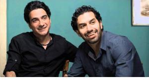 Homayoun Shajarian und Sohrab Pournazeri; Quelle: YouTube