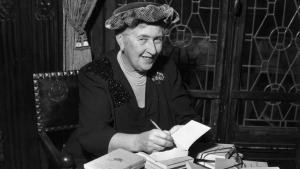 Die englische Krimibuchautorin Agatha Christie (1890-1976); Foto: Getty Images