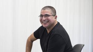Der marokkanische Schriftsteller Mahi Binebine; Foto: imago/El Mundo