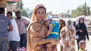 Frau der afro-iranischen Minderheit am Persischen Golf; Foto: Mahdi Ehsaei