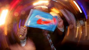 AfD-Wahlparty nach der Landtagswahl in Baden-Württemberg; Foto: Getty Images/A. Hassenstein