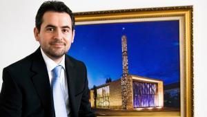 """Benjamin Idriz, Imam der Islamischen Gemeinde Penzberg und Vorsitzender des """"Münchner Forums für Islam e.V.""""; Foto: dpa"""