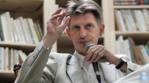Der amerikanisch-französische Autor und Journalist Jonathan Littell; Foto: Anne-Christine Poujoulat/AFP/Getty Images