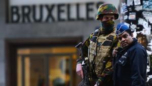 Belgische Sicherheitskräfte nach den Anschlägen von Brüssel; Foto: Getty Images/AFP/E.Dunand