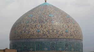 Die Schah-Moschee am Naghsh-e Jahan-Platz in Isfahan; Foto: DW/S. Rashidi
