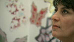 Die iranische Künstlerin Parastou Forouhar; Foto: DW