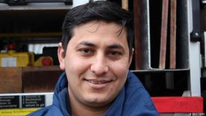 Emdadullah Mohammand, afghanischer Flüchtling in Deutschland; Foto: DW