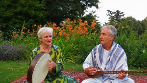 John Baily und seine Frau Veronica Doubleday in Genf; Foto: privat