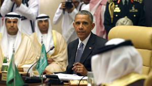 US-Präsident Barack Obama auf der Gipfelkonferenz des Golf-Kooperationsrates in Riad am 21.4.2016; Foto: Reuters/K. Lamarque