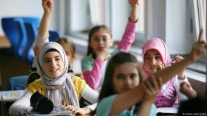 Grundschulkinder während des Unterrichts; Foto: dpa/picture-alliance