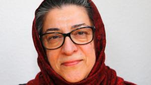 Die islamische Theologin Hamideh Mohagheghi; Foto: Christian Thuermann
