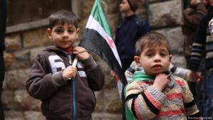 Syrische Kinder (Bild: dpa)