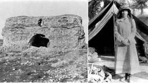 Gertrude Bell, historische Aufnahmen aus dem Irak. | Bildquelle: gemeinfrei, Kombo: ard.de