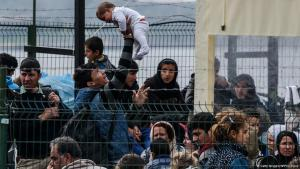Flüchtlinge im türkischen Dikili; Foto: Getty Images/AFP