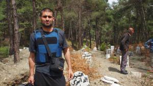Nagieb Khaja im syrischen Idlib; Foto: Nagieb Khaja