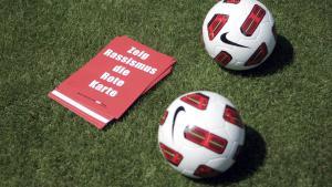 Aktion Zeig Rassismus die rote Karte, Foto: picture-alliance/dpa/Fredrik von Erichsen