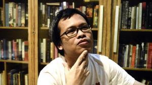 Der indonesische Schriftsteller Eka Kurniawan; Foto: Getty Images/AFP/Goh Chai Hin