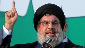 Hisbollah-Chef Hassan Nasrallah in Beirut.
