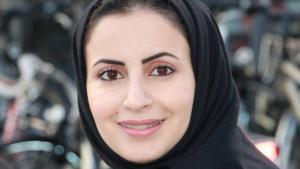 Die saudische Autorin Alhanoof Aldegheishem; Foto: privat