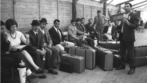 Türkische Gastarbeiter in Deutschland, Symbolbild 55 Jahre deutsch-türkisches Anwerbeabkommen; Foto: dpa/picture-alliance