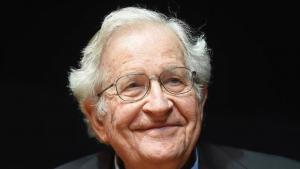Der amerikanische Sprachwissenschaftler, Philosoph und Aktivist Noam Chomsky; Foto: dpa