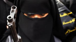 Deutsche Dschihadistin im Syrienkrieg; Foto: picture-alliance/landov