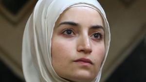 Hatice Durmaz, Vorsitzende des Rates Muslimischer Studierender und Akademiker (RAMSA); Foto: picture-alliance/dpa/C. Charisius