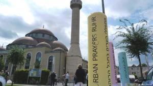Bühne für die Ruhrtriennale 2016: die Moschee in Duisburg-Marxloh