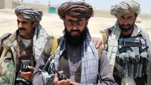 Afghanische Milizen aus der Provinz Ghazni; Foto: DW