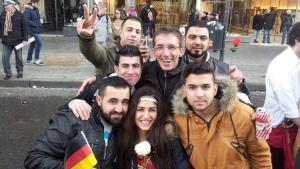 Symbolbild Syrische Flüchtlinge in Deutschland (Leben und Lernen in Aachen); Foto: DW/A. Juma