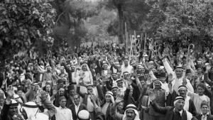 Der Arabische Aufstand in Palästina 1936; Foto: Public Domain