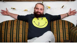 Firas Alshater, syrischer Filmemacher; Foto: Wikipedia