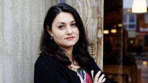 Die Islamwissenschftlerin Lamya Kaddor; Foto: Dominik Asbach/Rowohlt-Verlag