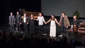 Aufführung von Seda Röder auf dem Beethoven-Fest Bonn; Foto:  Barbara Fromman