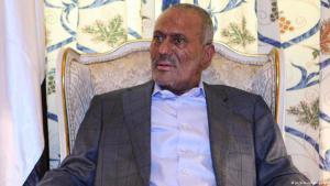 Jemens ehemaliger Präsident Ali Abdullah Salih; Foto: picture-alliance/dpa