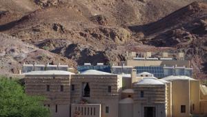 Die Feynan Eco Lodge im Wadi Araba; Foto: Claudia Mende