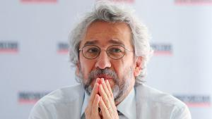 Der türkische Journalist Can Dündar; Foto: picture alliance/dpa/K. Nietfeld