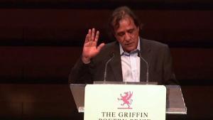 Der palästinensische Autor Ghassan Zaqtan; Quelle: YouTube