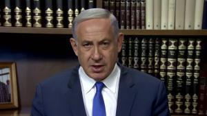 Netanjahu während seiner Rede vom 9. September 2016; Quelle: YouTube