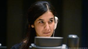 Nadia Murad; Foto: pictue-alliance/abacapress