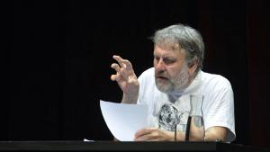 Der Philosoph Slavoj Žižek; Foto: picture-alliance/picturedesk