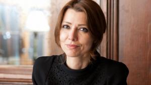 Die türkische Schriftstellerin Elif Shafak; Foto: dpa