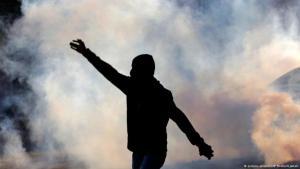 Regimefeindliche Proteste in Bahrain; Foto: AP/picture-alliance