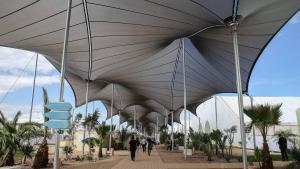 Konferenzgelände in Marrakesch; Foto: AP