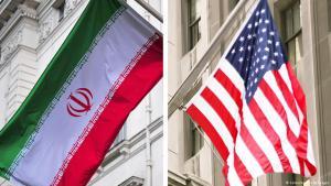 Symbolbild Nationalfahnen Irans und der Vereinigten Staaten; Foto: Colourbox/Getty Images