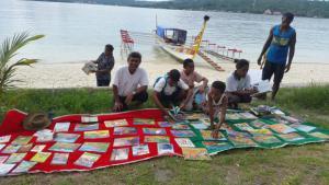 """Die """"Fluss-Bibliothek"""" von West-Sulawesi; Foto: Nirwan Ahmad Arsuka"""
