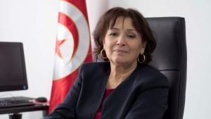 Sihem Bensedrine, Präsidentin der Wahrheitskommission in Tunesien; Foto: Sarah Mersch