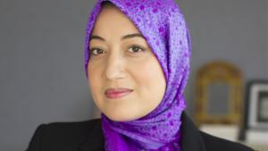 Die tunesische Staatssekretärin Saida Ounissi; Foto: Ennahda France