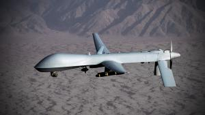 US-Drohne vom Typ MQ-1 Predator im Jemen; Foto: picture-alliance/dpa
